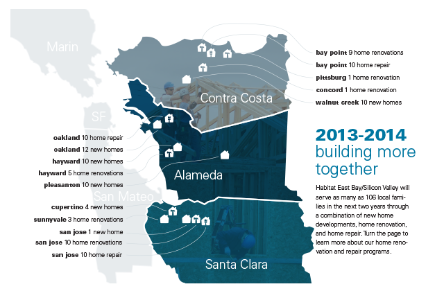Habitat East Bay/Silicon Valley 2012 Annual Report