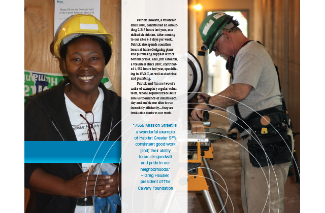 Habitat Greater San Francisco 2012 Annual Report